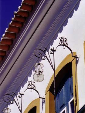 Detail of a Colonial Facade