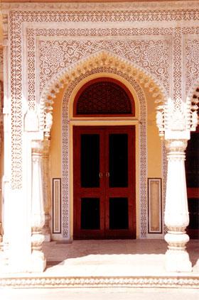 Tür im Stadtpalast